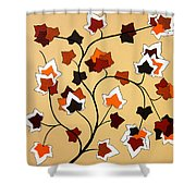 The Magnolia House Rules Shower Curtain