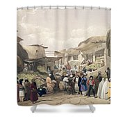 The Main Street In The Bazaar Shower Curtain