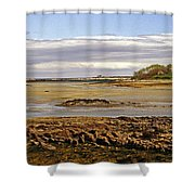 The Maine Coast Shower Curtain by Skip Willits