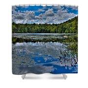 The Majestic Cary Lake Shower Curtain