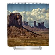 The Majesty Of Monument Valley  Shower Curtain