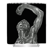 The Male Reach Shower Curtain