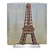 The Many Faces Of The Eiffel Tower In Paris France Shower Curtain