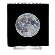 The March Mini-moon Shower Curtain