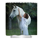 The Mare And The Maiden Shower Curtain