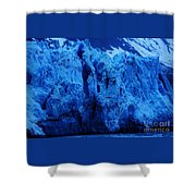 The Margerie Glacier 1 Shower Curtain