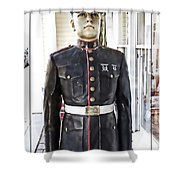The Marine Shower Curtain