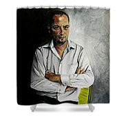 The Marketing Man Shower Curtain