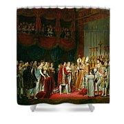 The Marriage Of Napoleon I 1769-1821 And Marie Louise 1791-1847 Archduchess Of Austria, 2nd April Shower Curtain
