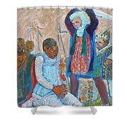 The Martydom Of St Maurice Shower Curtain