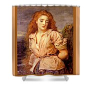 The Martyr Of The Solway Poster Shower Curtain