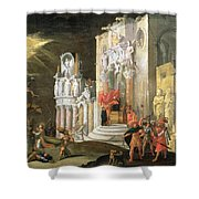 The Martyrdom Of St. Catherine, 17th Shower Curtain