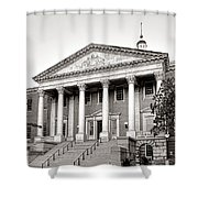 The Maryland State House Shower Curtain