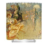 The Masked Ball Shower Curtain