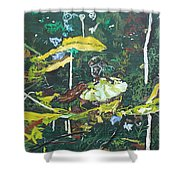 The Masquerade Dance Shower Curtain