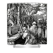 The Mass Of St. Gregory Shower Curtain