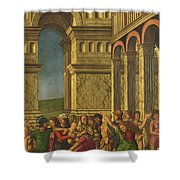 The Massacre Of The Innocents Shower Curtain