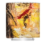 The Matador Shower Curtain