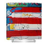 The Max Face  Shower Curtain