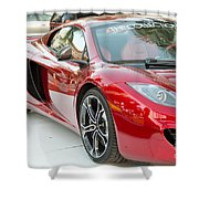 The Mclaren Apple Red Collection  Shower Curtain