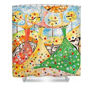 The Meadow 746 - Marucii Shower Curtain