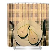 The Meal Of The Day Shower Curtain