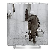 The Medina Shower Curtain