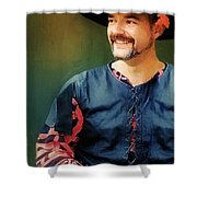 The Merry Rustic Shower Curtain
