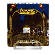 The Metropolitain #2 Shower Curtain
