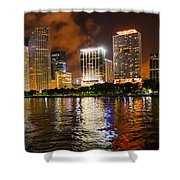 The Miami Guardian Shower Curtain