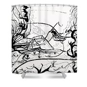 The Middle Of Nowhere Shower Curtain