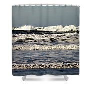 The Mighty Pacific II Shower Curtain
