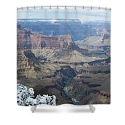 The Mighty Colorado River Shower Curtain