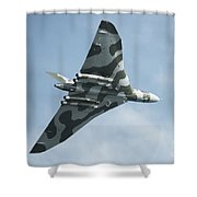 The Mighty Vulcan  Shower Curtain