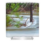 The Milky River Shower Curtain