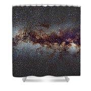 The Milky Way From Scorpio Antares And Sagitarius To North America Nebula In Cygnus Shower Curtain
