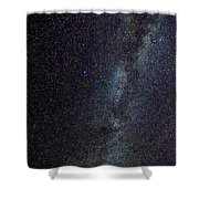The Milky Way Galaxy  Shower Curtain