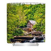 The  Mill At Babcock Shower Curtain