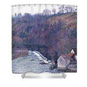 The Mill At Vervy Shower Curtain