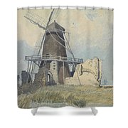 The Mill St Benet's Abbey Shower Curtain