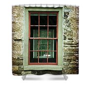 The Mill Window  Shower Curtain