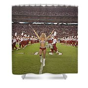 The Million Dollar Marching Band Of The University Of Alabama Shower Curtain