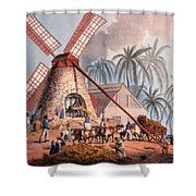 The Millyard, From Ten Views Shower Curtain