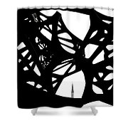 The Minaret And Art Shower Curtain