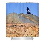 The Mine Shower Curtain
