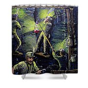 The Miners Way Shower Curtain