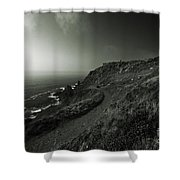 The Mines Of Bottallack Shower Curtain