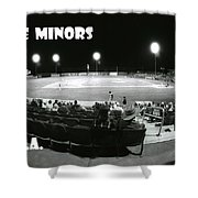 The Minors Usa Shower Curtain