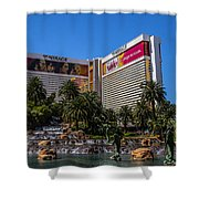 The Mirage Shower Curtain