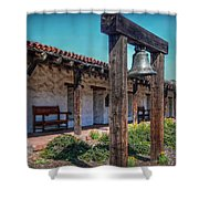 The Mission Bell Shower Curtain